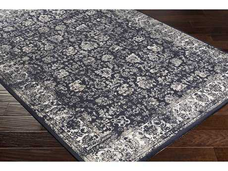 Surya Saverio Rectangular Black, Khaki & Beige Area Rug