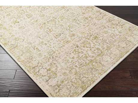 Surya Saverio Rectangular Camel, Bright Yellow & Khaki Area Rug