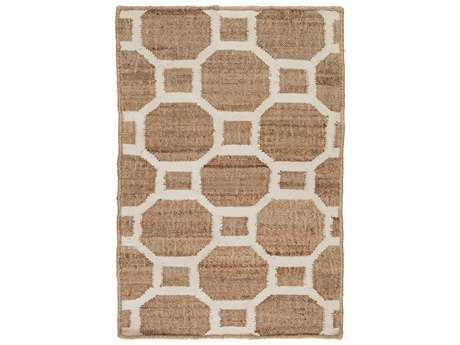Surya Seaport Rectangular Mocha & Ivory Area Rug