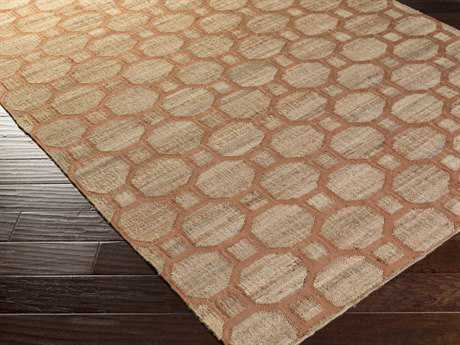 Surya Seaport Rectangular Mocha & Rust Area Rug