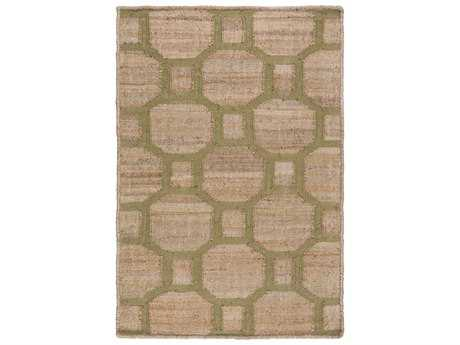 Surya Seaport Rectangular Mocha & Olive Area Rug