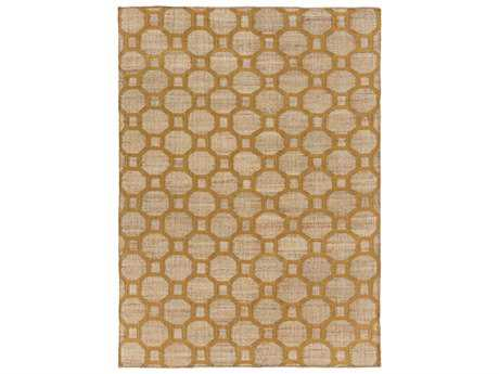 Surya Seaport Rectangular Mocha & Tan Area Rug
