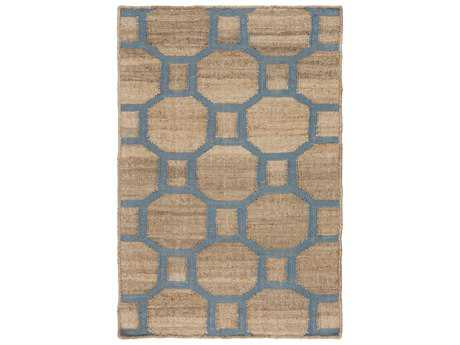 Surya Seaport Rectangular Mocha & Slate Area Rug