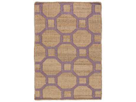 Surya Seaport Rectangular Mocha & Mauve Area Rug