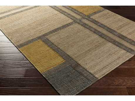 Surya Seaport Rectangular Khaki, Camel & Dark Brown Area Rug