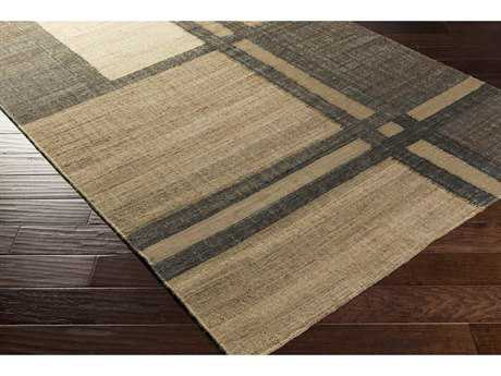 Surya Seaport Rectangular Khaki, Camel & Charcoal Area Rug