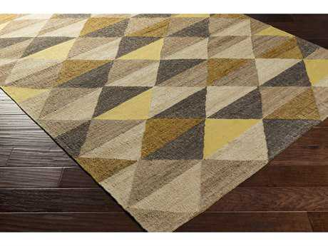 Surya Seaport Rectangular Khaki, Tan & Beige Area Rug