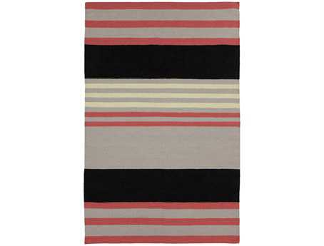 Surya Sheffield Market Rectangular Pink Area Rug
