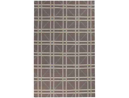 Surya Sheffield Market Rectangular Gray Area Rug