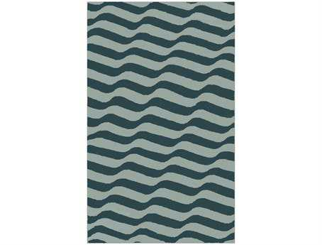 Surya Sheffield Market Rectangular Teal Area Rug