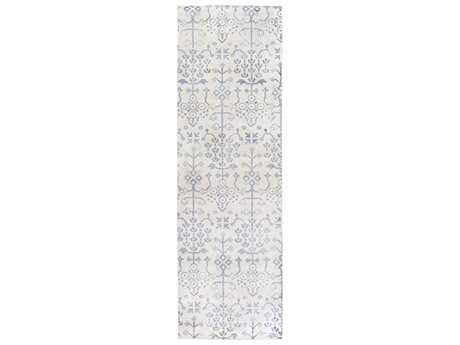 Surya Shibori 2'6'' x 8' Rectangular Slate Runner Rug