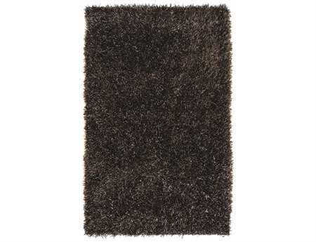 Surya Shimmer Rectangular Brown Area Rug