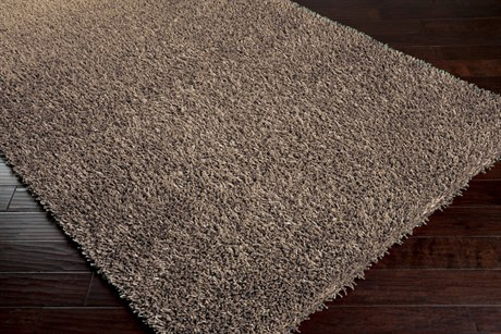 Surya Shimmer Rectangular Gray Area Rug