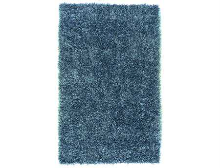 Surya Shimmer Rectangular Blue Area Rug