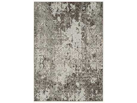 Surya Steinberger Rectangular Beige, Dark Brown & Sage Area Rug