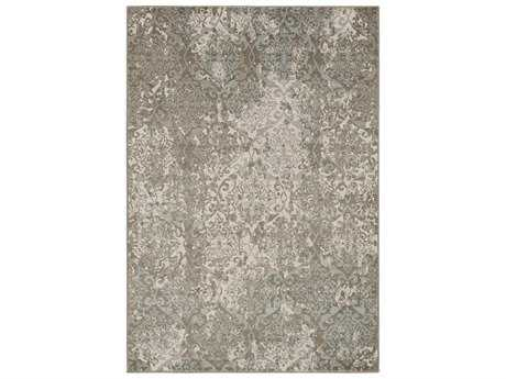 Surya Steinberger Rectangular Beige, Taupe & Dark Brown Area Rug