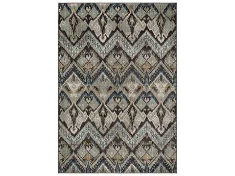 Surya Steinberger Rectangular Sage, Taupe & Dark Brown Area Rug