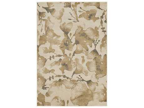 Surya Steinberger Rectangular Beige, Camel & Dark Brown Area Rug