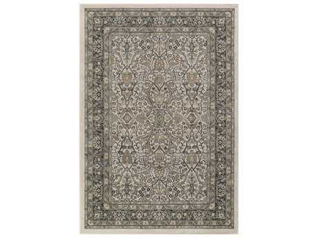 Surya Steinberger Rectangular Taupe, Camel & Dark Brown Area Rug