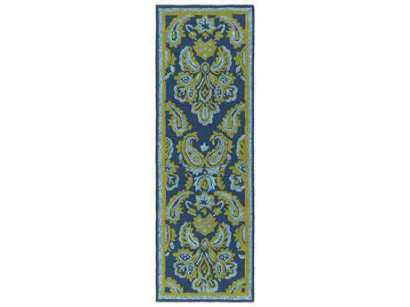 Surya Skye 2'6'' x 8' Rectangular Lime Runner Rug