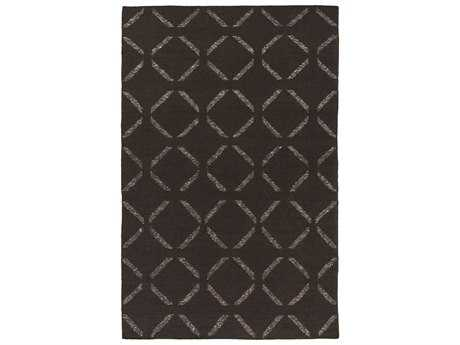 Surya Stallman Rectangular Chocolate Area Rug