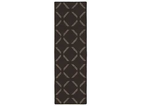 Surya Stallman 2'6'' x 8' Rectangular Chocolate Runner Rug