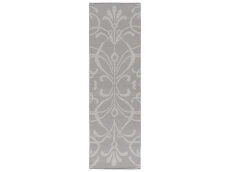 Surya Stallman 2'6'' x 8' Rectangular Light Gray Runner Rug