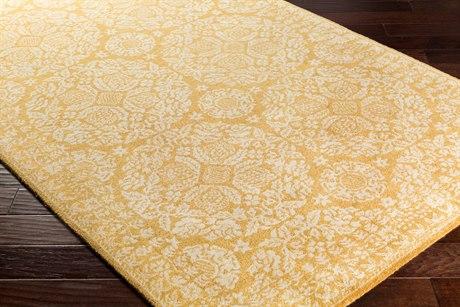Surya Smithsonian Rectangular Mustard & Khaki Area Rug