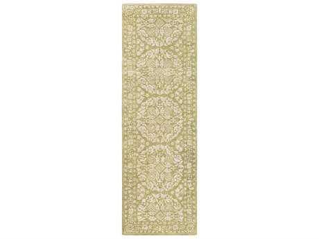 Surya Smithsonian 2'6'' x 8' Rectangular Olive & Khaki Runner Rug