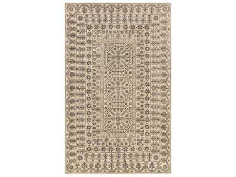Surya Smithsonian Rectangular Charcoal & Khaki Area Rug