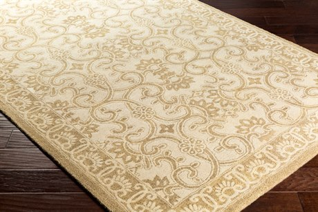 Surya Smithsonian Rectangular Tan & Khaki Area Rug