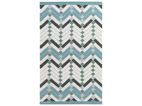 Surya Savannah Rectangular Teal Area Rug