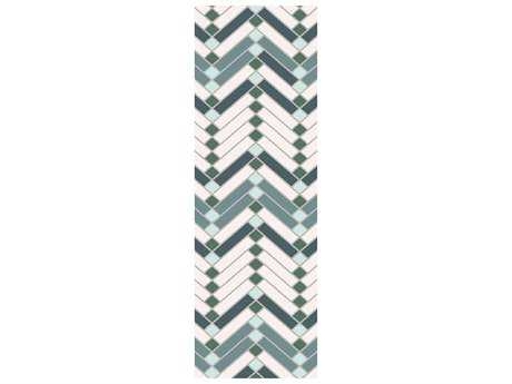 Surya Savannah 2'6'' x 8' Rectangular Teal Runner Rug