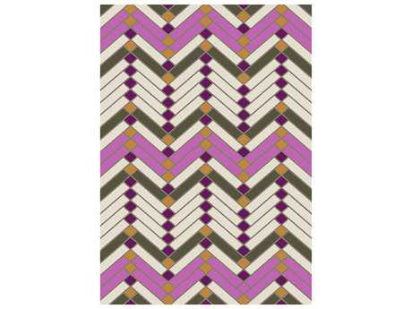 Surya Savannah Rectangular Magenta Area Rug