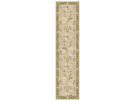 Surya Sonoma 2'6'' x 10' Rectangular Olive Runner Rug