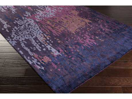 Surya Serenade Rectangular Violet, Bright Purple & Bright Pink Area Rug
