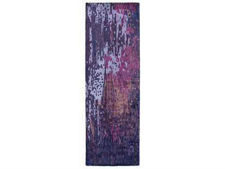 Surya Serenade 2'6'' x 8' Rectangular Violet, Bright Purple & Bright Pink Runner Rug