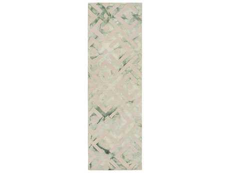 Surya Serafina 2'6'' x 8' Rectangular Gray Runner Rug