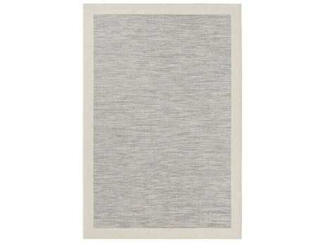 Surya Santa Cruz Rectangular Bright Blue, Taupe & Cream Area Rug