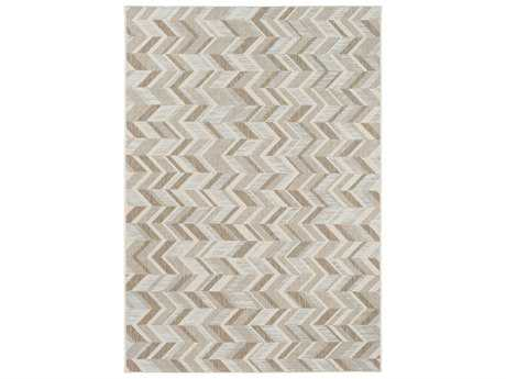Surya Santa Cruz Rectangular Tan, Ivory & Khaki Area Rug