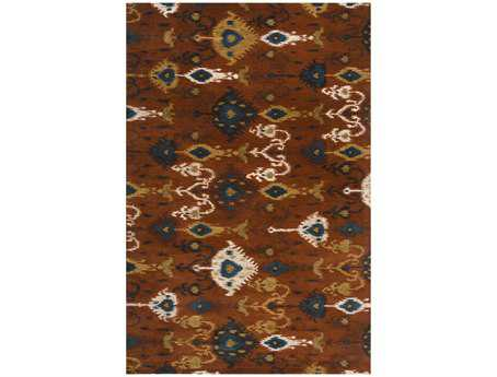 Surya Surroundings Rectangular Brown Area Rug
