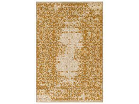 Surya Sonya Rectangular Khaki, Beige & Burnt Orange Area Rug