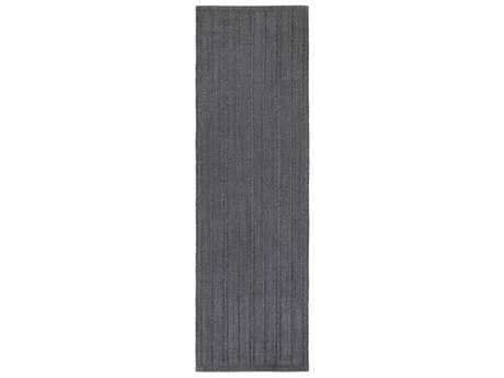 Surya Taran 2'6'' x 8' Rectangular Black Runner Rug