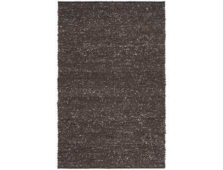 Surya Tahoe Rectangular Black Area Rug
