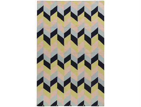 Surya Talitha Rectangular Black Area Rug