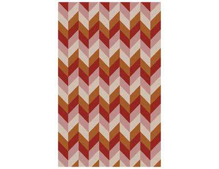 Surya Talitha Rectangular Orange Area Rug