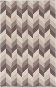 Surya Talitha Rectangular Gray Area Rug