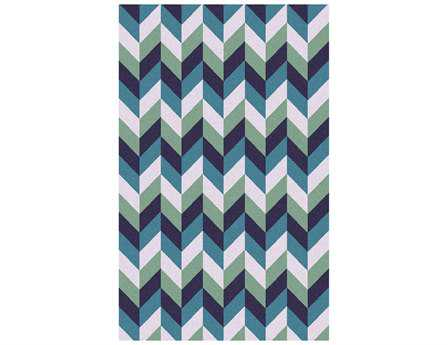 Surya Talitha Rectangular Teal Area Rug
