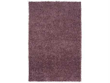 Surya Taz Rectangular Purple Area Rug