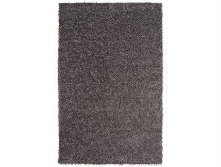 Surya Taz Rectangular Gray Area Rug